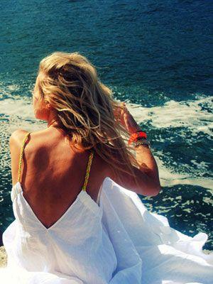 Waves, The Ocean, Sea Salts, White Summer Dresses, White Dresses, The Dresses, Beach Hair, Nike Free, Open Back