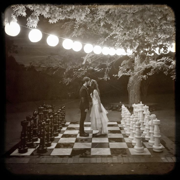 Checkmate! Not sure where I would ever find this, but it sure would be fun!