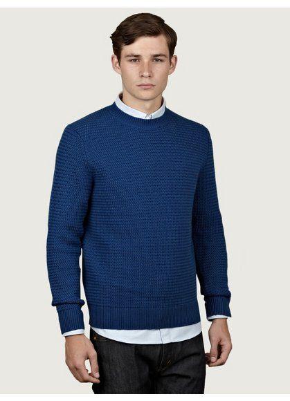 A.P.C. Men's Merino Wool Knit Jumper