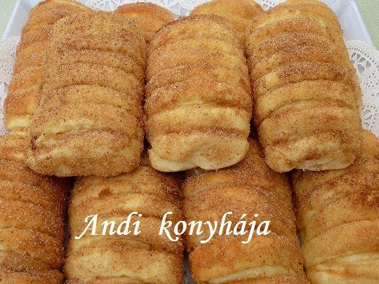 Vaníliás - fahéjas rúd - Andi konyhája - Sütemény és ételreceptek képekkel