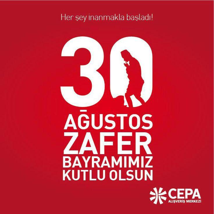 #CepaAvm 30 Ağustos Zafer Bayramınızı Kutlar...  #ankara #turkiye #30Agustos #zaferbayrami #mustafakemalataturk