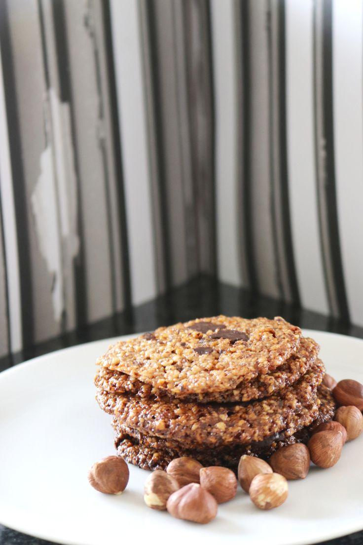 Hasselnøttcookies