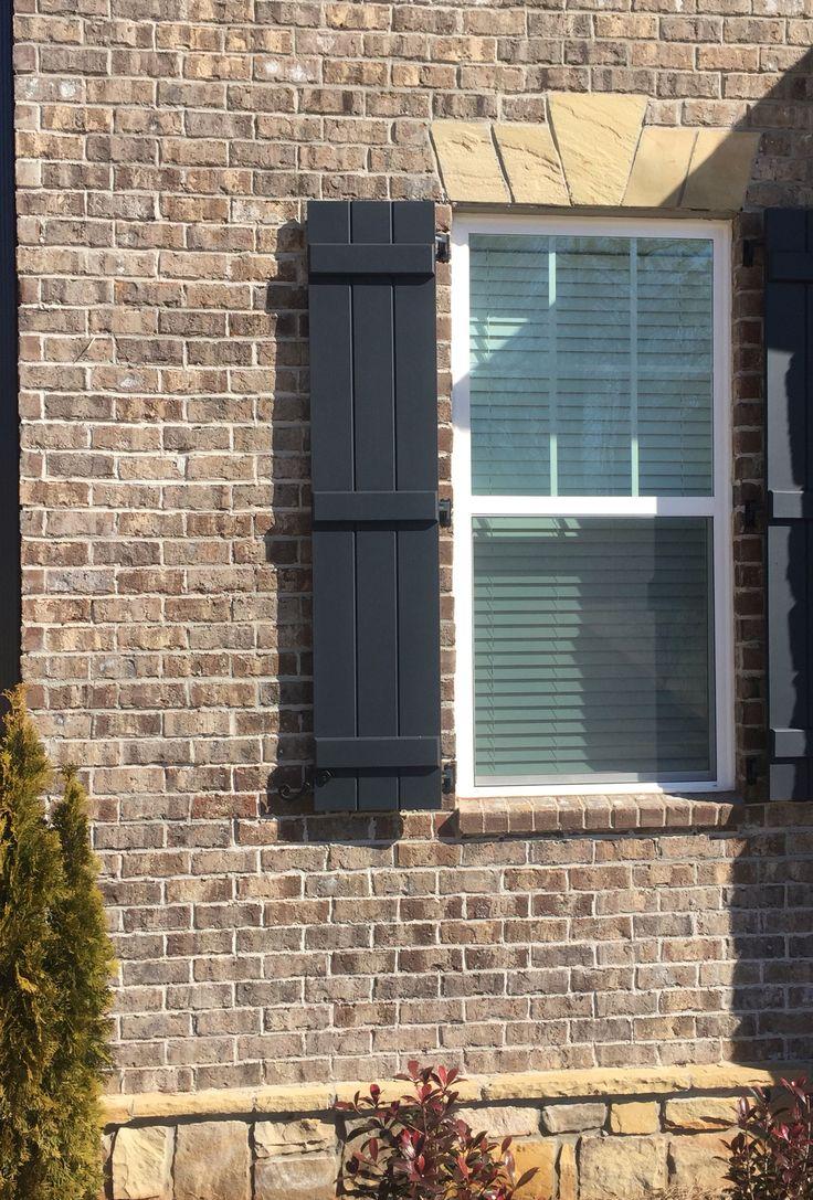 Marshton Brick Mortar Light Gray Brick Exterior House