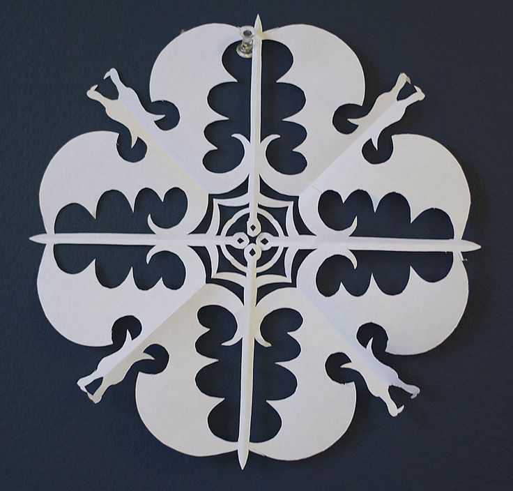 Game of Thrones paper snowflake template 19