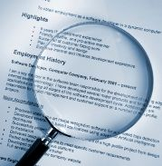 resume pointers for mature workers
