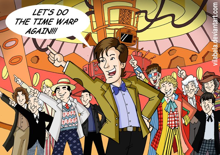 Lords of Time Warp: The Doctors, Comics Book, Time Warped, Rockyhorror, Doctorwho, Rocky Horror, Doctors Who, Doctors Parties, Dance