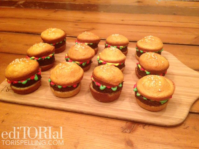 Mini Cupcake Sliders
