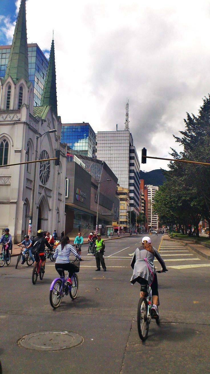 La Ciclovia #Bogotá #Casa Gaitán Cortés