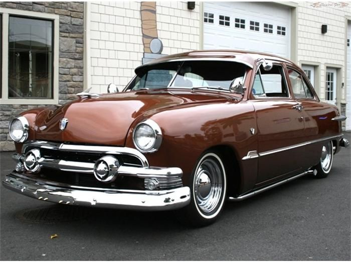 1951 Ford 2-Dr Sedan..Re-pin...Brought to you by #CarInsurance at #HouseofInsurance in Eugene, Oregon