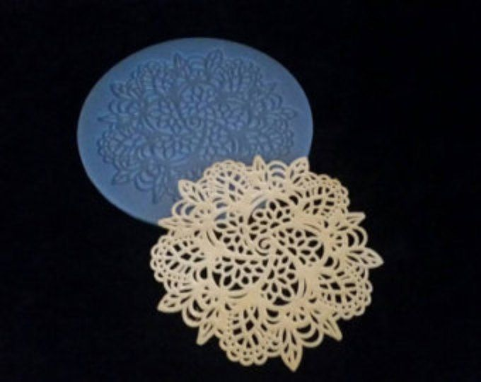 Silicone Lace Mat-Medallion, Edible Lace Doilies