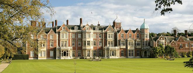 Sandringham, England  The official vacation home of the Royal Family.