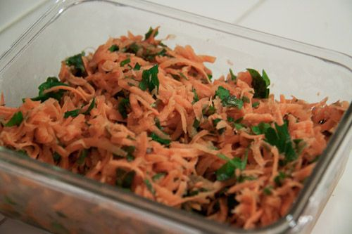 From New Recipes from Moosewood Restaurant This carrot salad is a nice change from the traditional carrot raison salad most North Americans are probably familiar with. Take it to a potluck and …