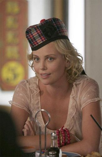 Charlize Theron as Rita in Arrested Development yessssss