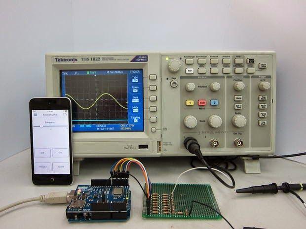 Portal MCU: Gerador de funções com Arduino controlado pelo iOS...