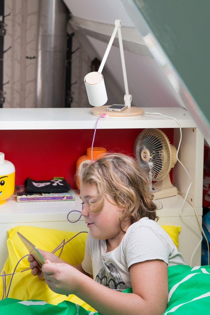 Inspiratie door Anki van Zilverblauw | IKEA IKEAnederland wooninspiratie inspiratie kinderkamer zolderkamer kinderen kids kind spelen slapen