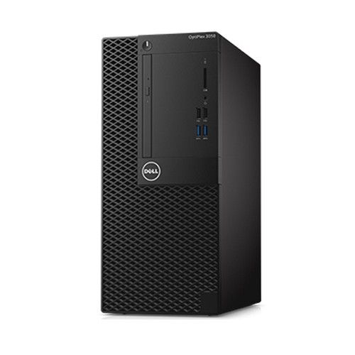Dell OptiPlex 3050MT i5-7500 4G 1TB DVD Ubuntu (SNS35MT001) Specifications  CPU Intel® Core™ i5-7500 (Quad Core, 6MB Cache, 3.4GHz, Turbo upto 3.80GHz) Chipset Intel® B250 Chipset OS Ubuntu RAM 4GB (1x4GB) 2400MHz DDR4 Memory HDD 1TB 7200Rpm SATA 3.5in Hard Drive Optical drive DVD RW Display No Monitor Graphic Intel® HD Graphics 630 Sound Integrated Mouse&KB USB Keyboard + Mouse PowerSupply 240W Standard Power Supply (APFC)  Video Port 1 Display, 1 HDMI + 1 VGA (can use 2 port max at same…