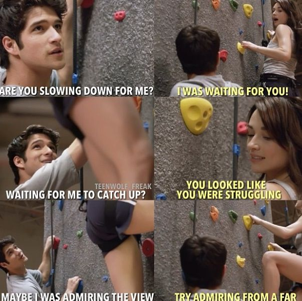 Teen Wolf Scott and Allison