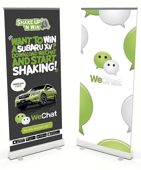 WeChat Branding on Behance