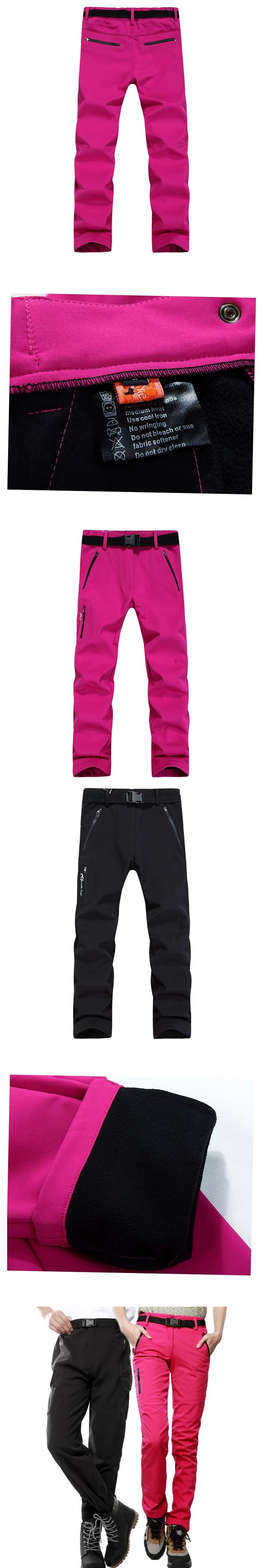Outdoor Pants Ski Pants Winter Autumn Wind And Waterproof Hiking Climbing Fishing Sport Trousers
