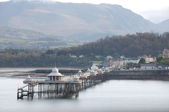 garth pier, bangor, gwynedd. Where the first installation of the Tigerboy epic will reach its (no doubt weary) conclusion.