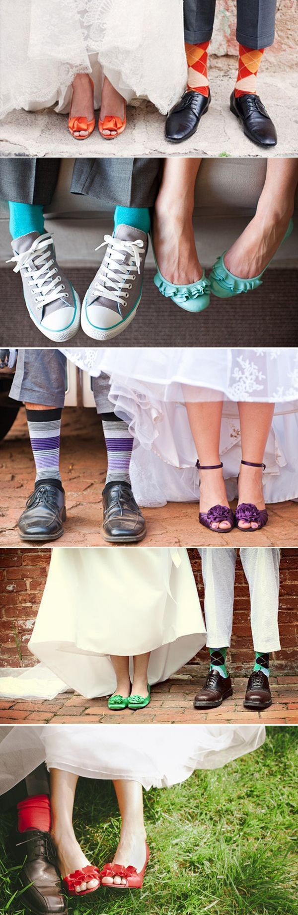 Matching socks and shoes! Love the second one down! Her shoes are adorable!