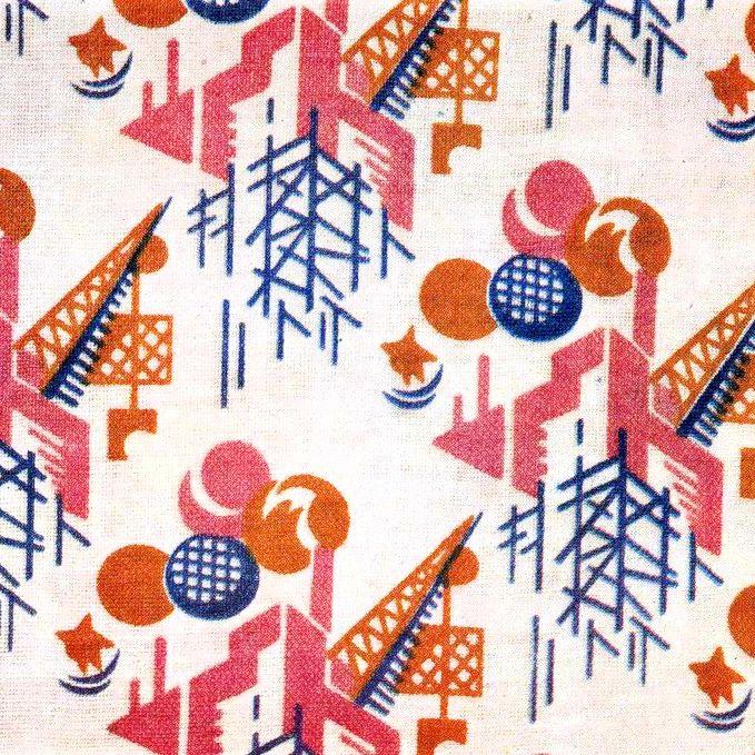 Old Soviet fabric