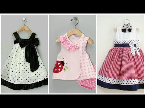 6ab3ceedd Simple Stylish Cotton Baby Girl Frocks Designs - YouTube | Sew ...