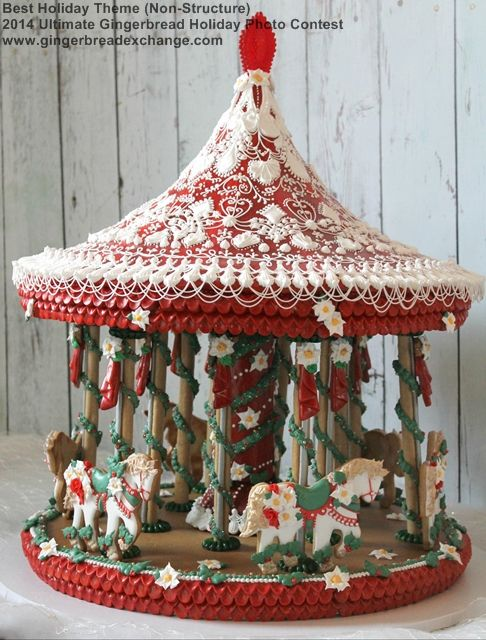 Best Holiday Theme (Non-Structure) - 2014 Ultimate Gingerbread Holiday Gingerbread Photo Contest!