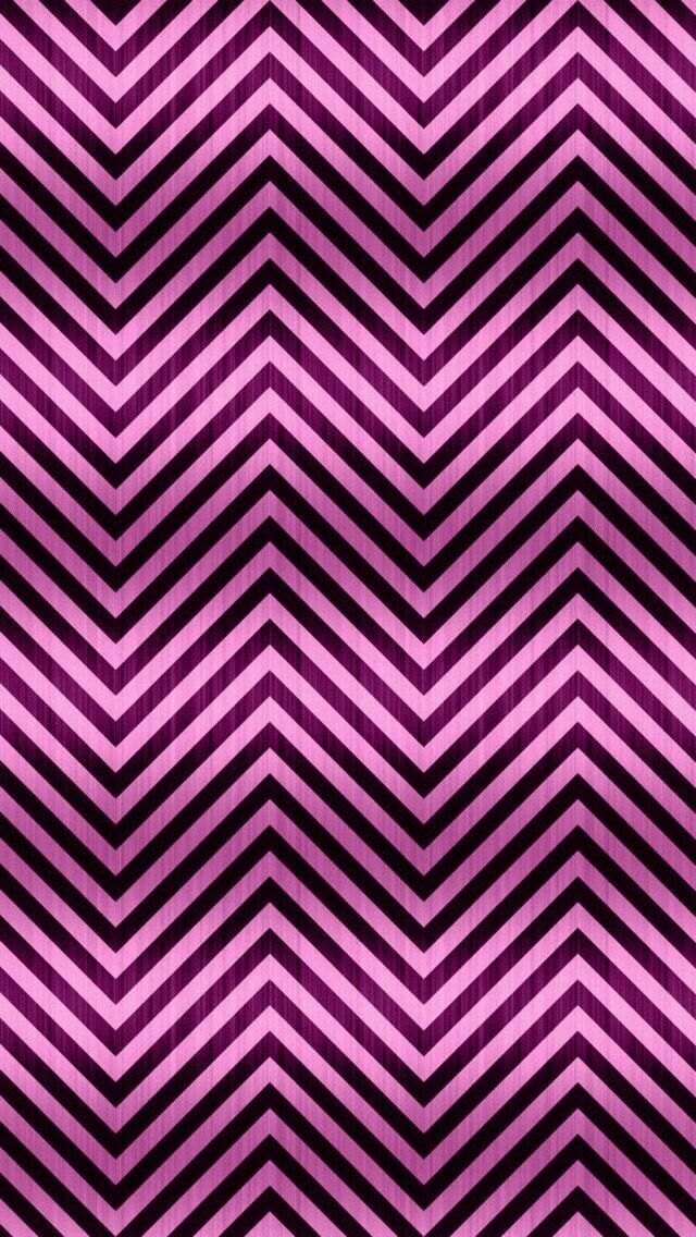 Purple and Pink Chevron Wallpaper