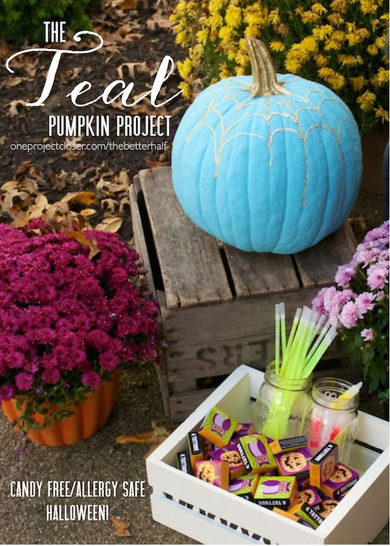 The Teal Pumpkin Project: Allergy Safe and Real Food Approved