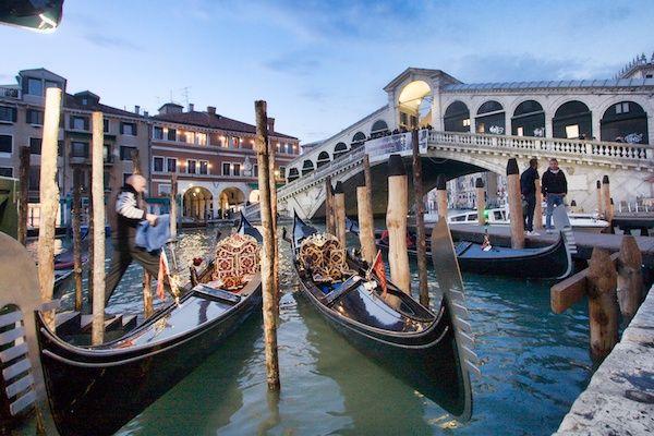A Photo Documentary of the VENICE gondolas