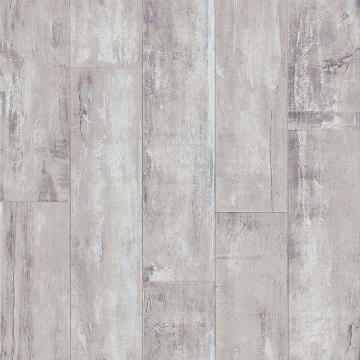 Imitation Beige and Grey Wood-effect Wallpaper