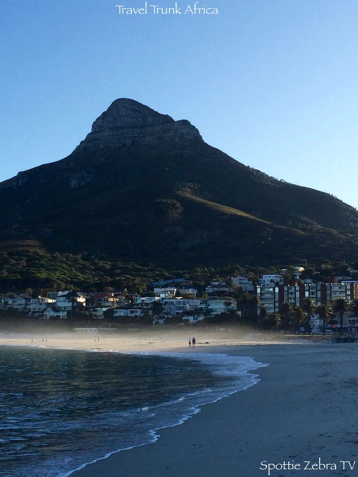 Lions head taken from Camps Bay Beach as the sun is rising.