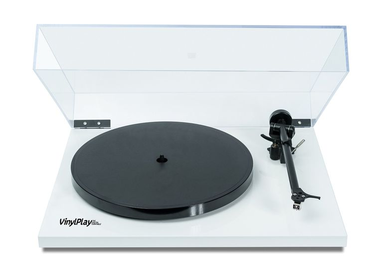Flexson VinylPlay High-Quality Digital Turntable With Lid - Convert Vinyl to Digital (White): Amazon.co.uk: Electronics