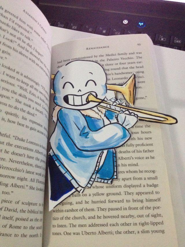sans bookmark