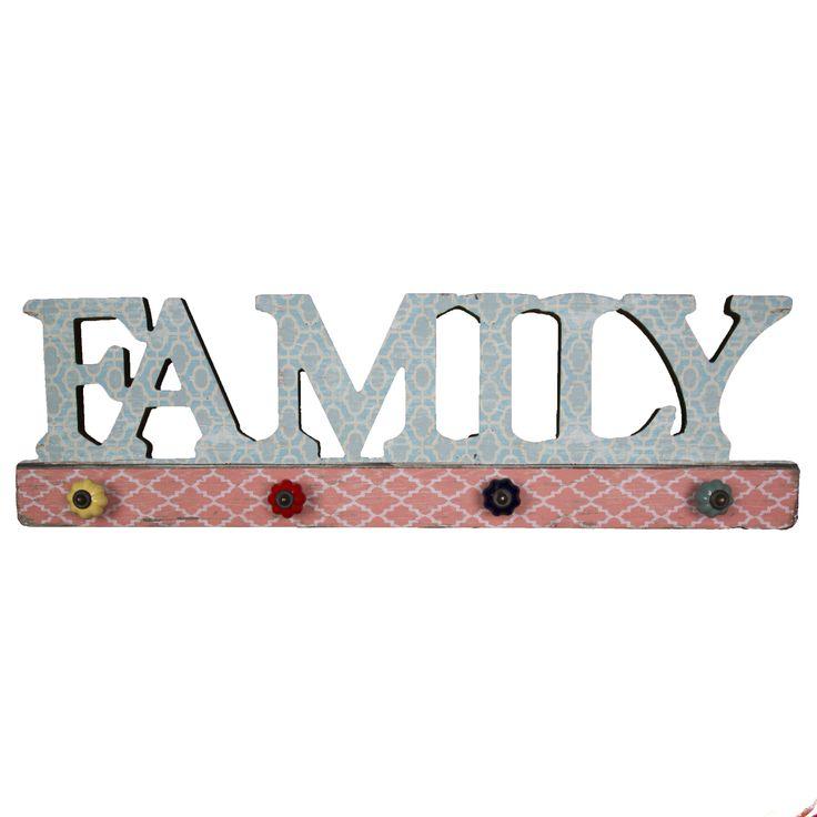 Bohemian Family Multi Hook available @applenpip.co.uk