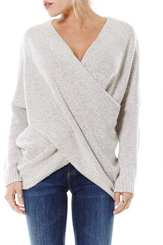This Wrap Sweater is my absolute favorite!