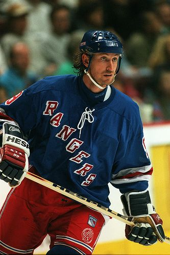 wayne gretzky | new york rangers #hockey #nhl #99