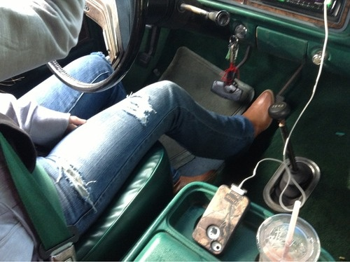 love this...ALL ME...boots...hoodie...phone...and iced coffee....truck....yeahhhhhhhh