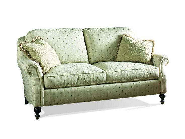 Sherrill Living Room Loose Pillow Back Sofa 3138 3   Kathy Adams Furniture  And Design