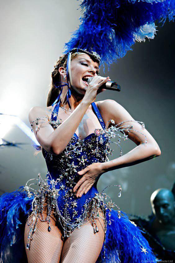 Kylie MinogueCorsets designed byJohn Galliano.