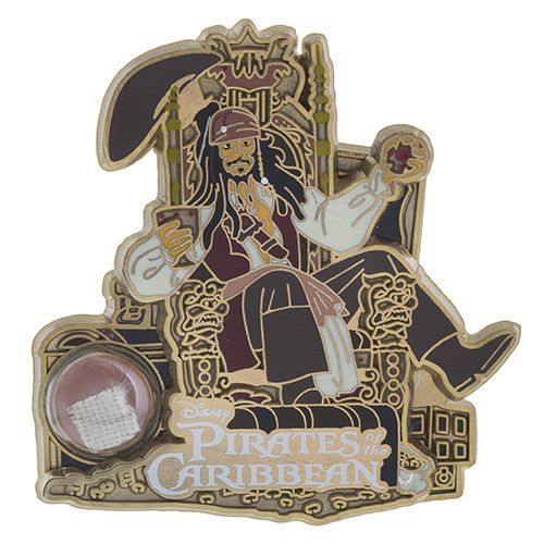 Your WDW Store - Disney Piece of WDW History Pin - Pirates of the Caribbean - Jack