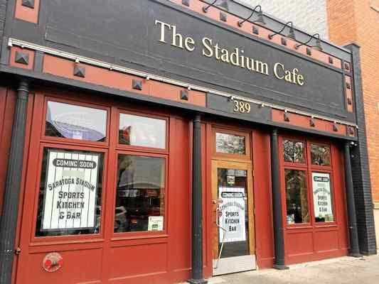 Stadium Cafe Saratoga Ny