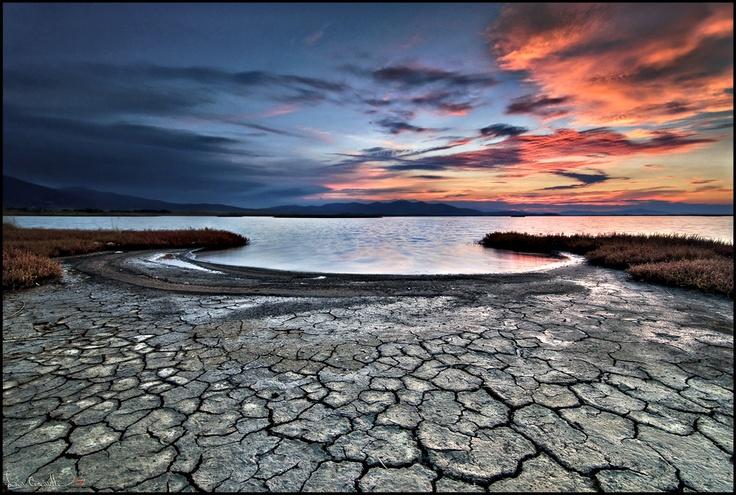 Sunset at the Castiglione della Pescaia nature reserve...Alba in Diaccia Botrona by Luca Coscarelli, via 500px