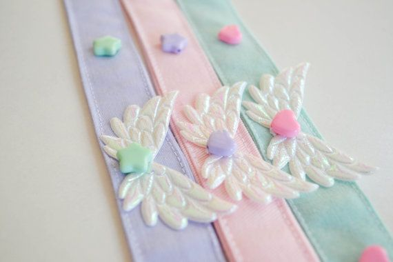 Hey, I found this really awesome Etsy listing at http://www.etsy.com/listing/161300337/fairy-kei-pastel-kawaii-wing-necklace
