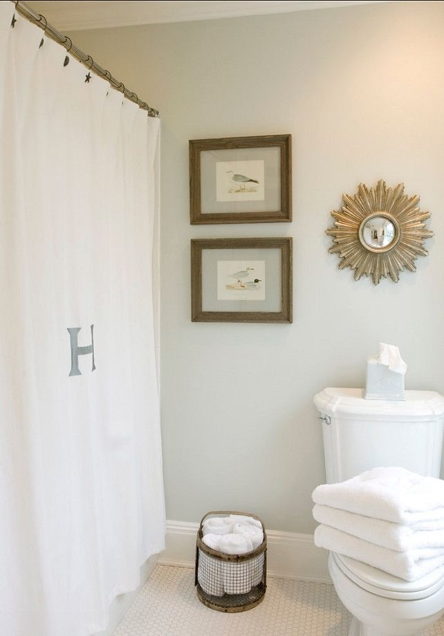 Bathroom Painted In Edgecomb Gray Hc 173 By Benjamin Moore Diy Decor 2018 Paint Colors Painting
