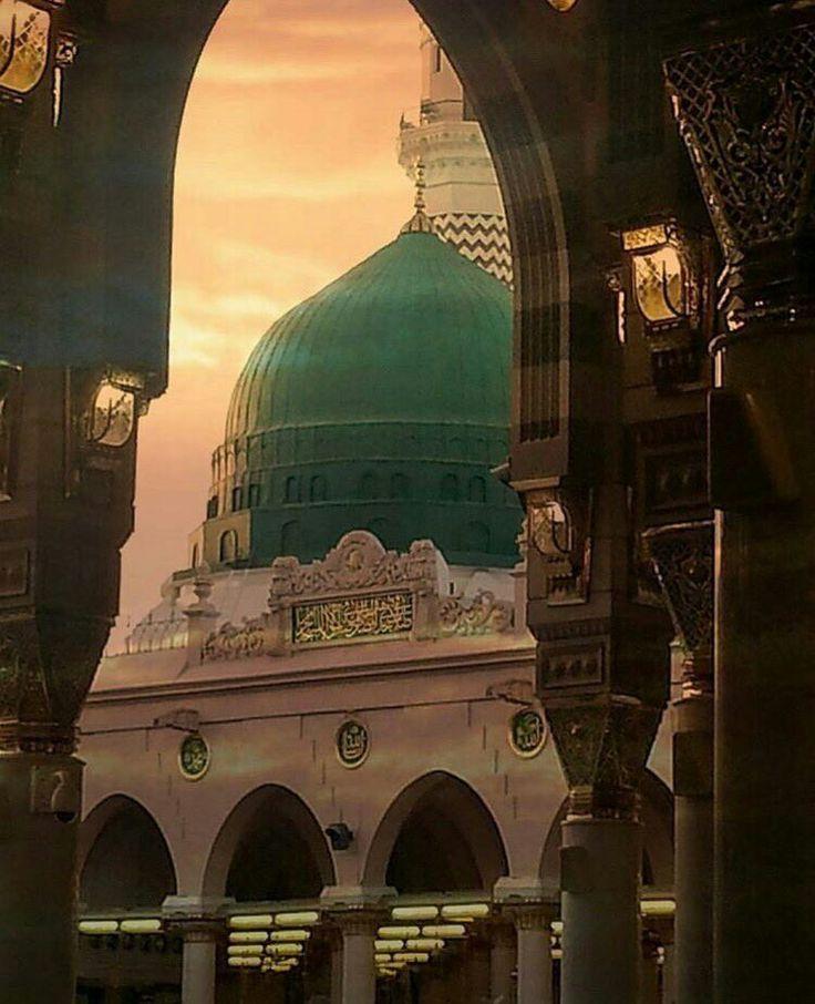 The prophet's mosque, Madina, KSA