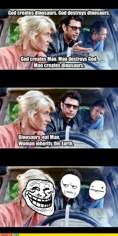 Jurassic Troll