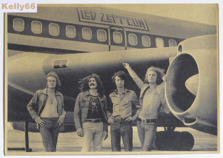[Kelly66] Винтаж Led Zeppelin Плакаты Украшают Бар или Дома Стены Бумаги Плакат 42 Х 30 СМ ГМ-7