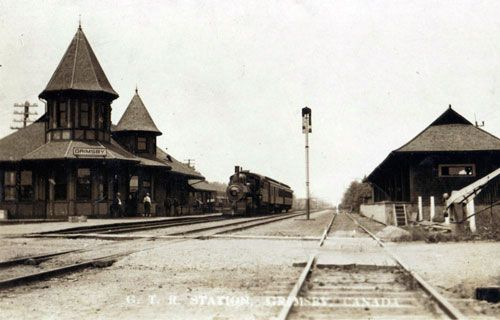 Railway stations in Grimsby Ontario